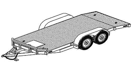 18x8 car carrier trailer plans blueprints model 1218 80 utility 18x8 car carrier trailer plans blueprints model 1218 80 malvernweather Gallery