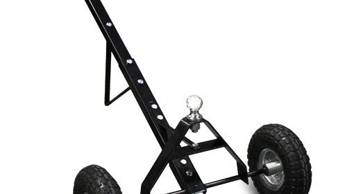 Xtremepowerus 600lb Tow Hitch Trailer Dolly Cargo Utility Tow Hitch